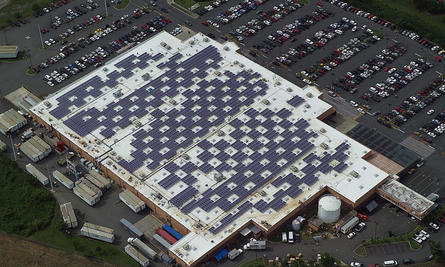 commercial solar energy project