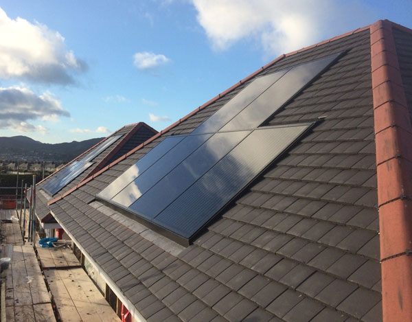 solar energy for new build homes