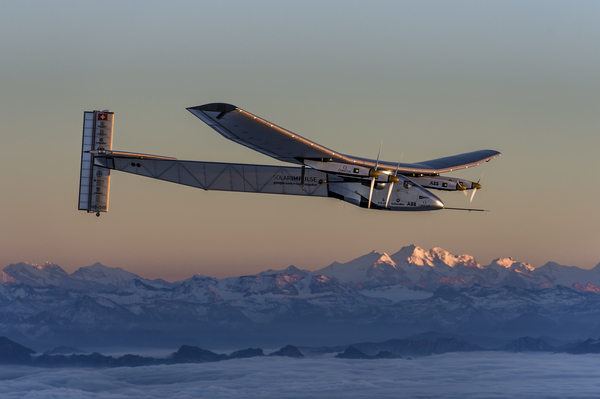 Solar Impulse 2 - Solar Powered Plane