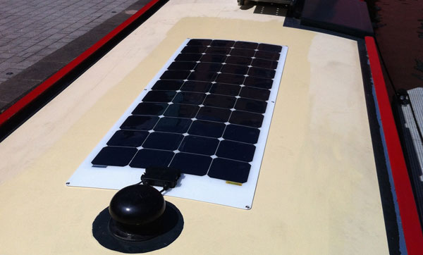 semi flexible solar panel Leicester